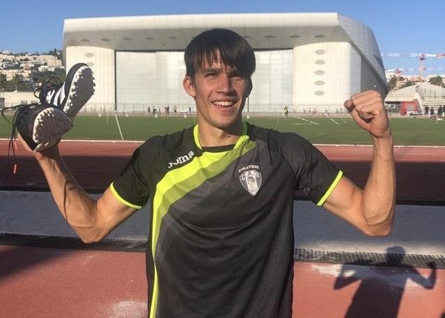 Athlétisme - Sortie de Confinement réussie  pour Matéo Guillard (CAB)