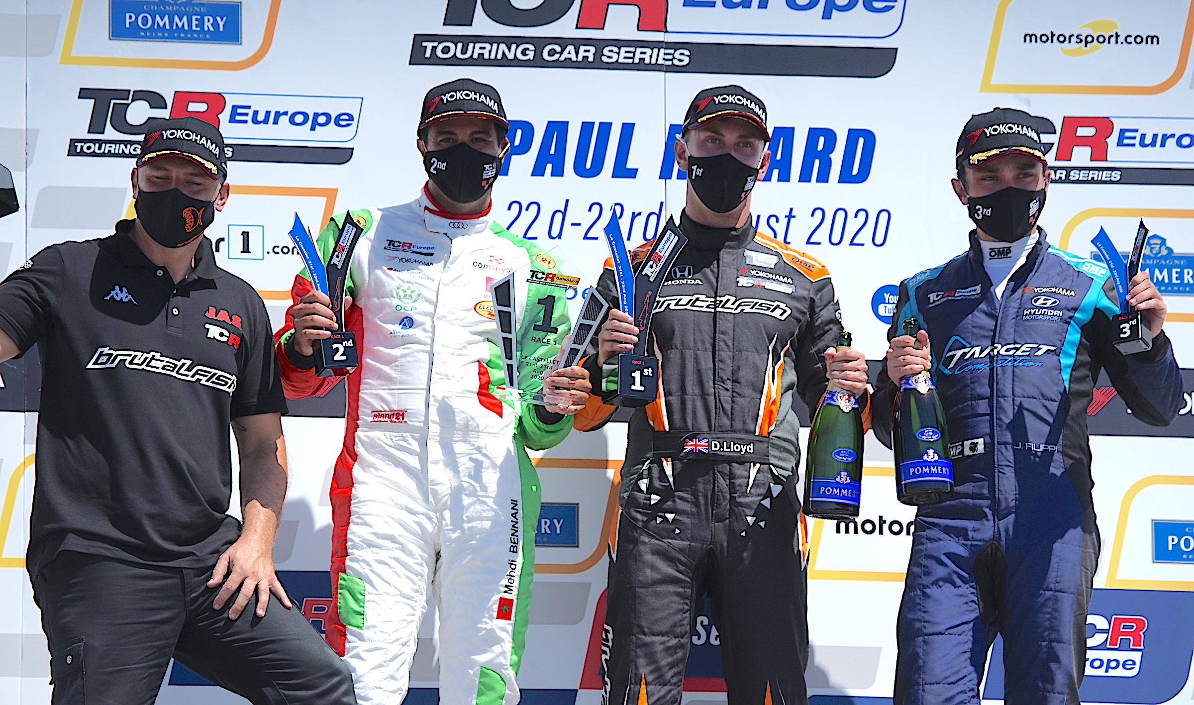 John Filippi sur le podium au Castellet !