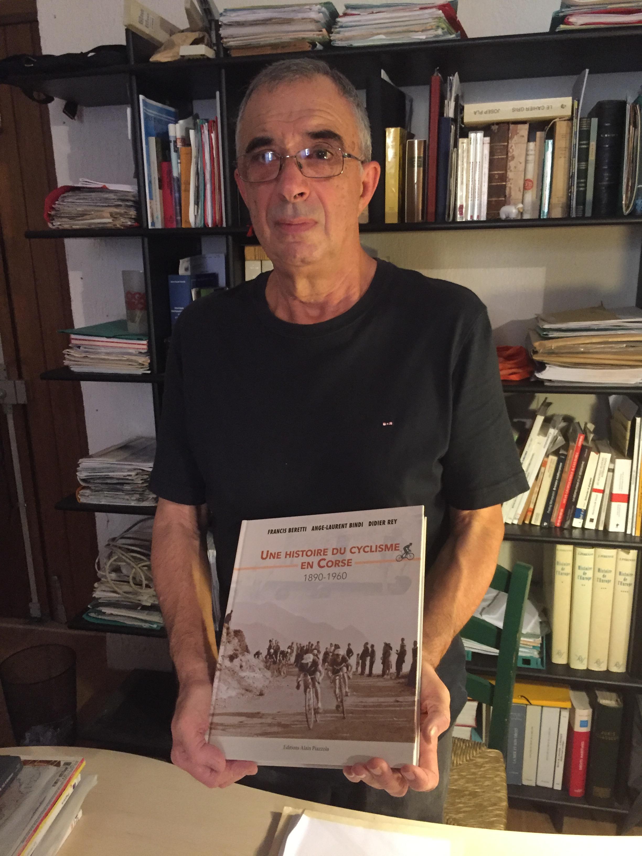 Rentrée littéraire : «Une histoire du cyclisme en corse, 1890-1960».