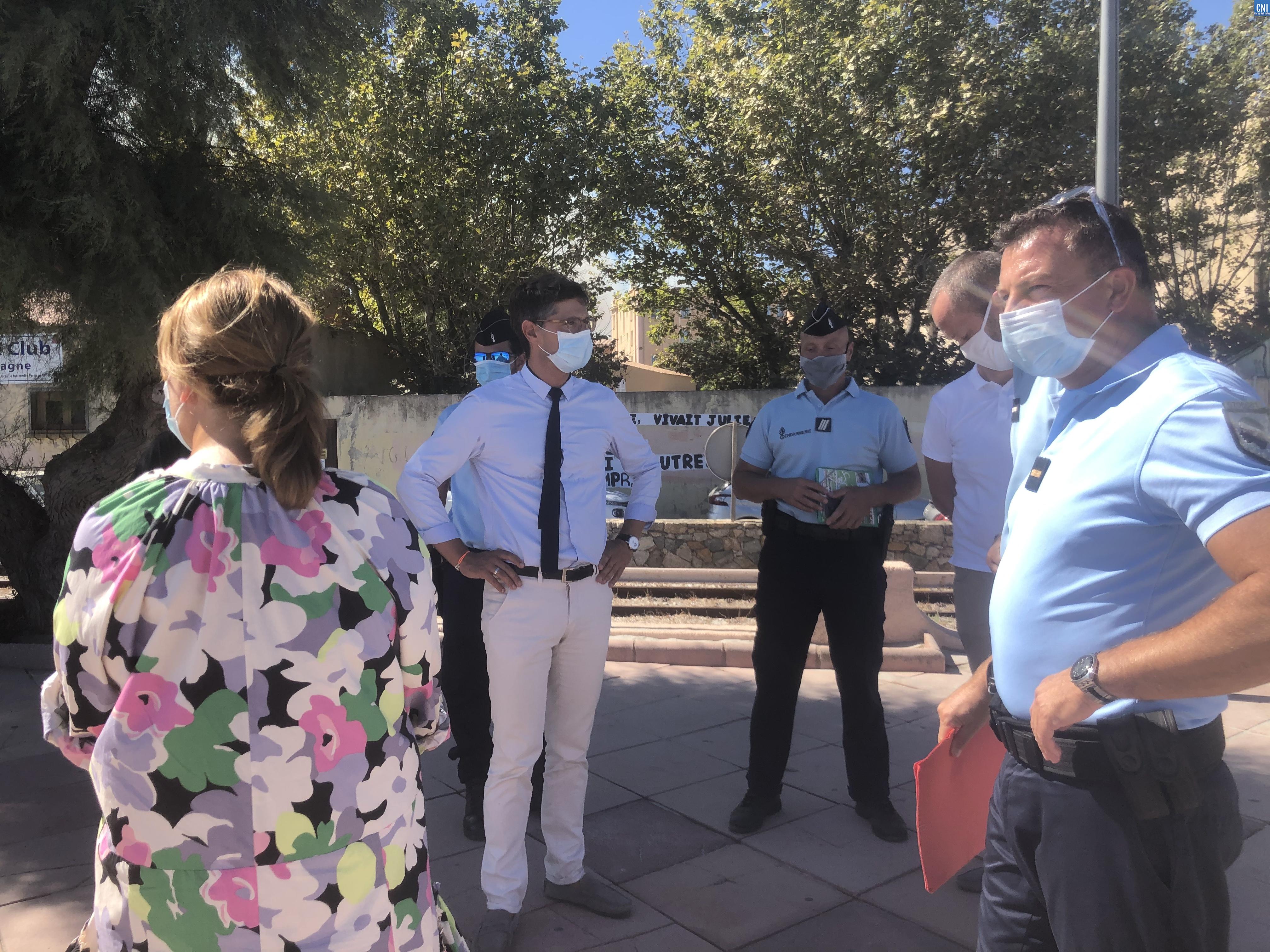 Port du masque : contrôles préventifs à Lisula