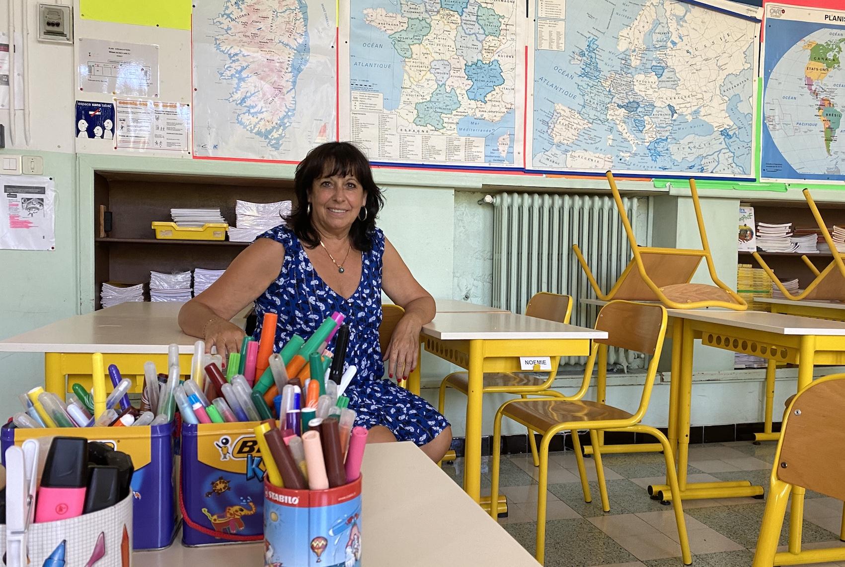 Michelle Mauny, directrice de l'école Charpak.