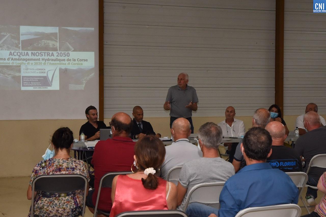 Acqua Nostra 2050 : «la Balagne fait partie des régions prioritaires en terme d'aménagements»