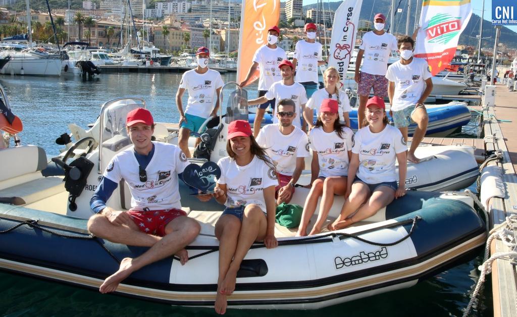 La belle équipe de Med 'in Corse. (Photo Michel Luccioni)