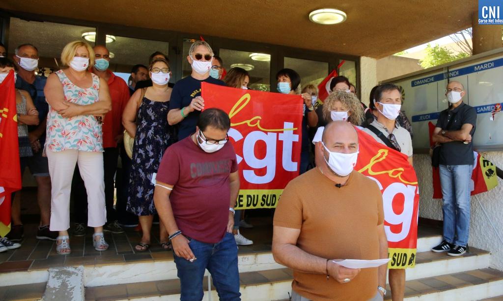 La CGT de Corse-du-Sud demande une audience à Emmanuel Macron ( Photo Michel Luccioni)