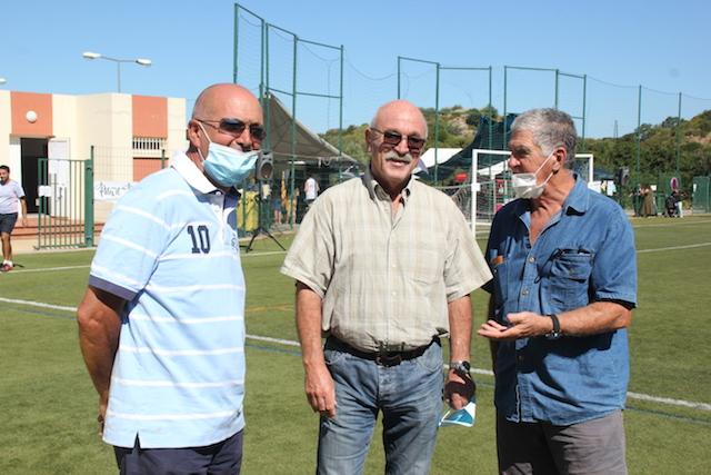 Etienne Ponzevera le président d'honneur du RC Nebbiu était bien présent aujourd'hui sur la pelouse du stade Jean Mattei