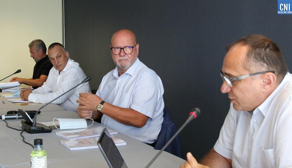 Le président de la CCI de Corse, Jean Dominici. Photos Michel Luccioni