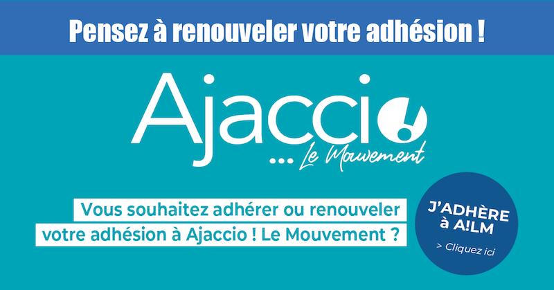 Ajaccio ! Le Mouvement lance sa campagne d'adhésion
