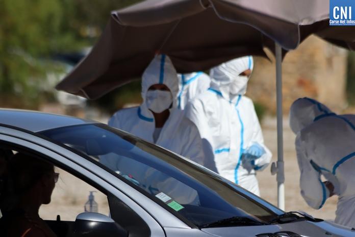 Covid-19 en Corse : 37 nouveaux cas positifs et 4 nouvelles hospitalisations ce lundi 7 septembre
