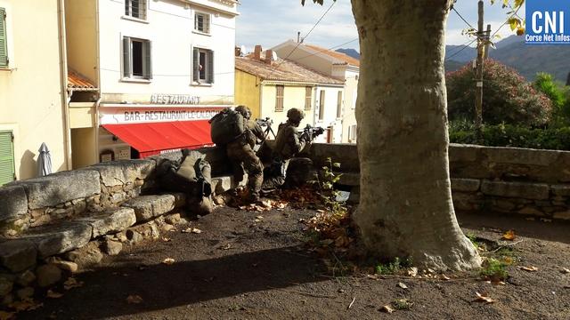 """L'exercice militaire """"vent d'automne"""" a pris fin à Calenzana"""