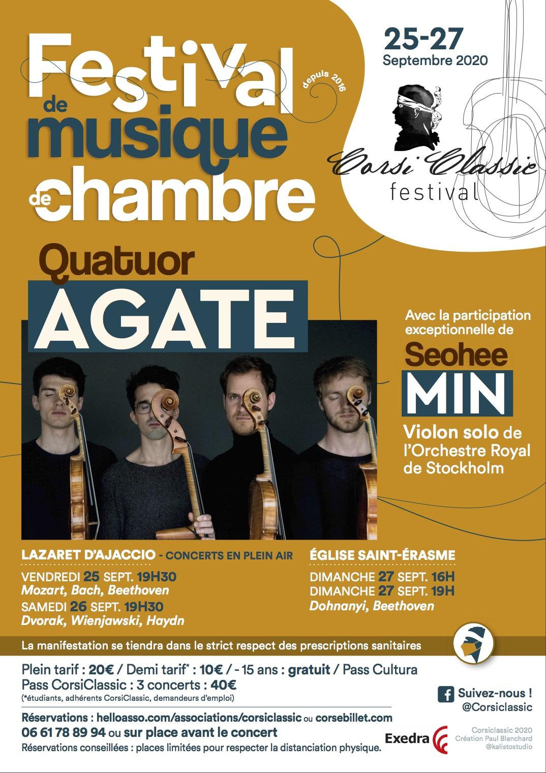 Ajaccio : rendez-vous avec le Festival CorsiClassic du 25 au 27 septembre