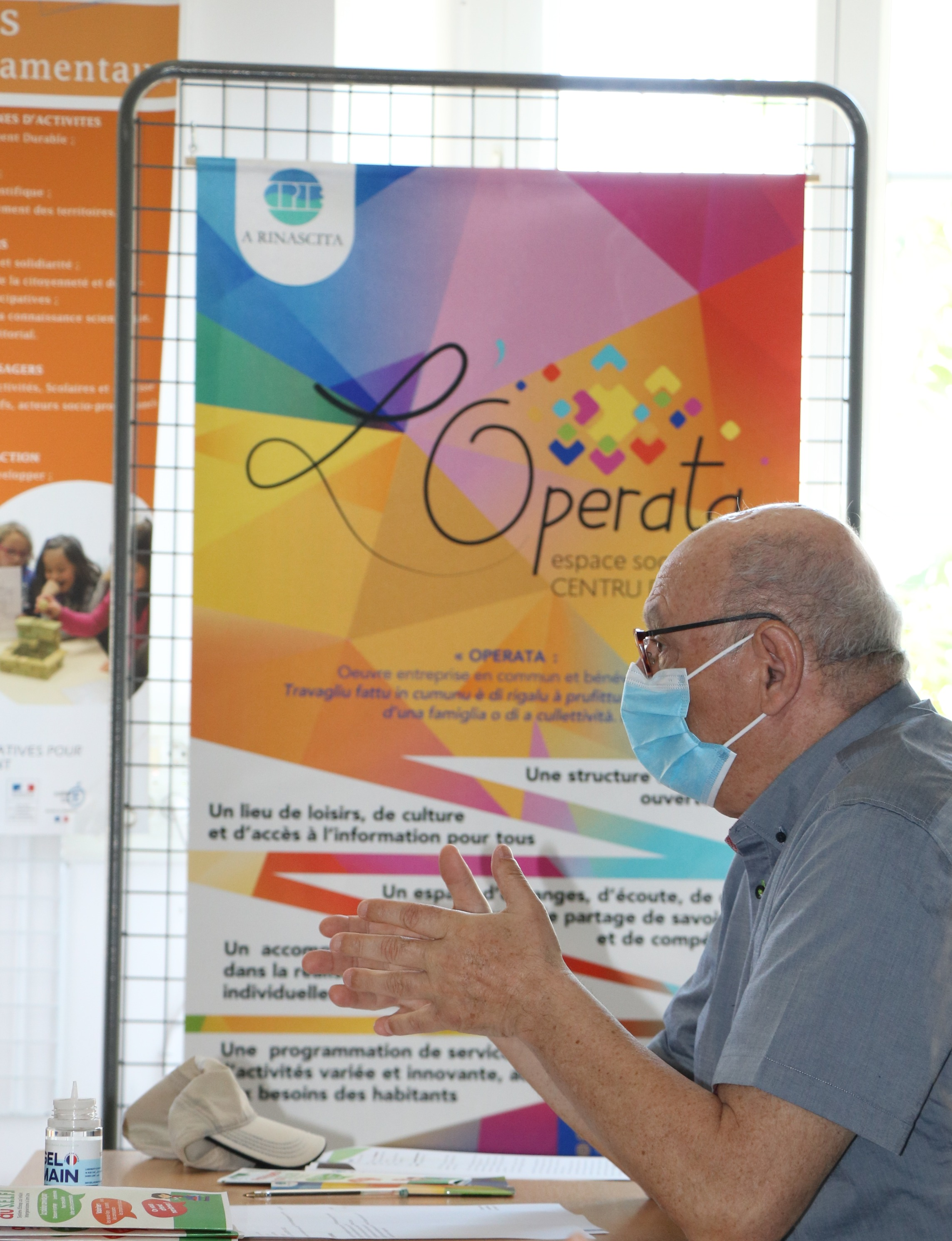 Antoine Ferracci, président du CPIE – A Rinascita