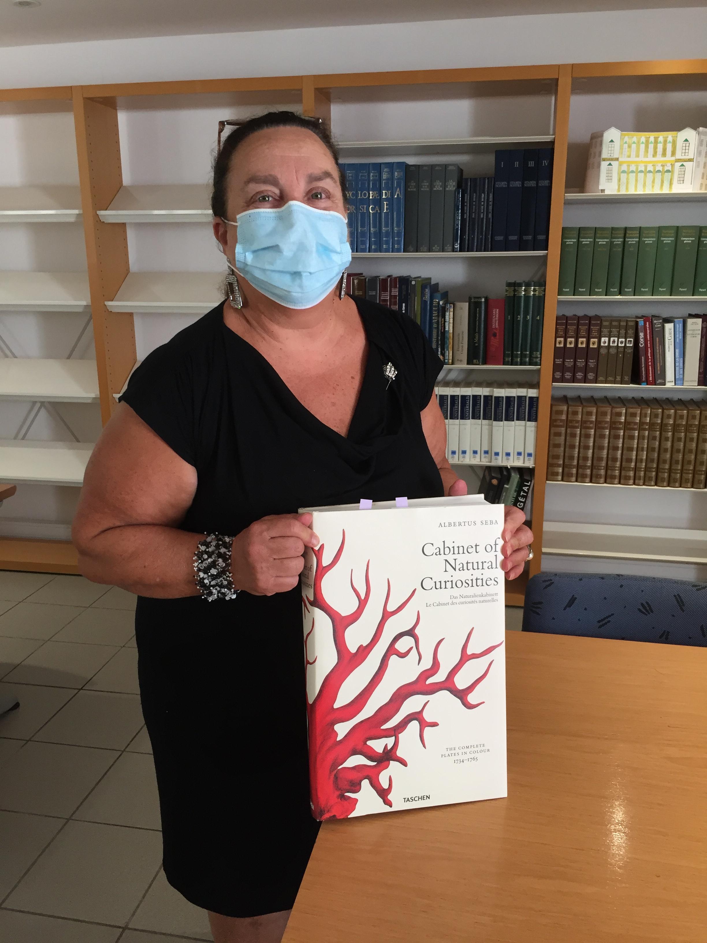 Linda Piazza, responsable de la biblothèque patrimoniale de Bastia, a concocté un sacré programme pour 2020/2021