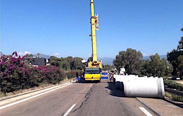 Ajaccio : travaux entre les giratoires d'Asprettu et de l'aéroport