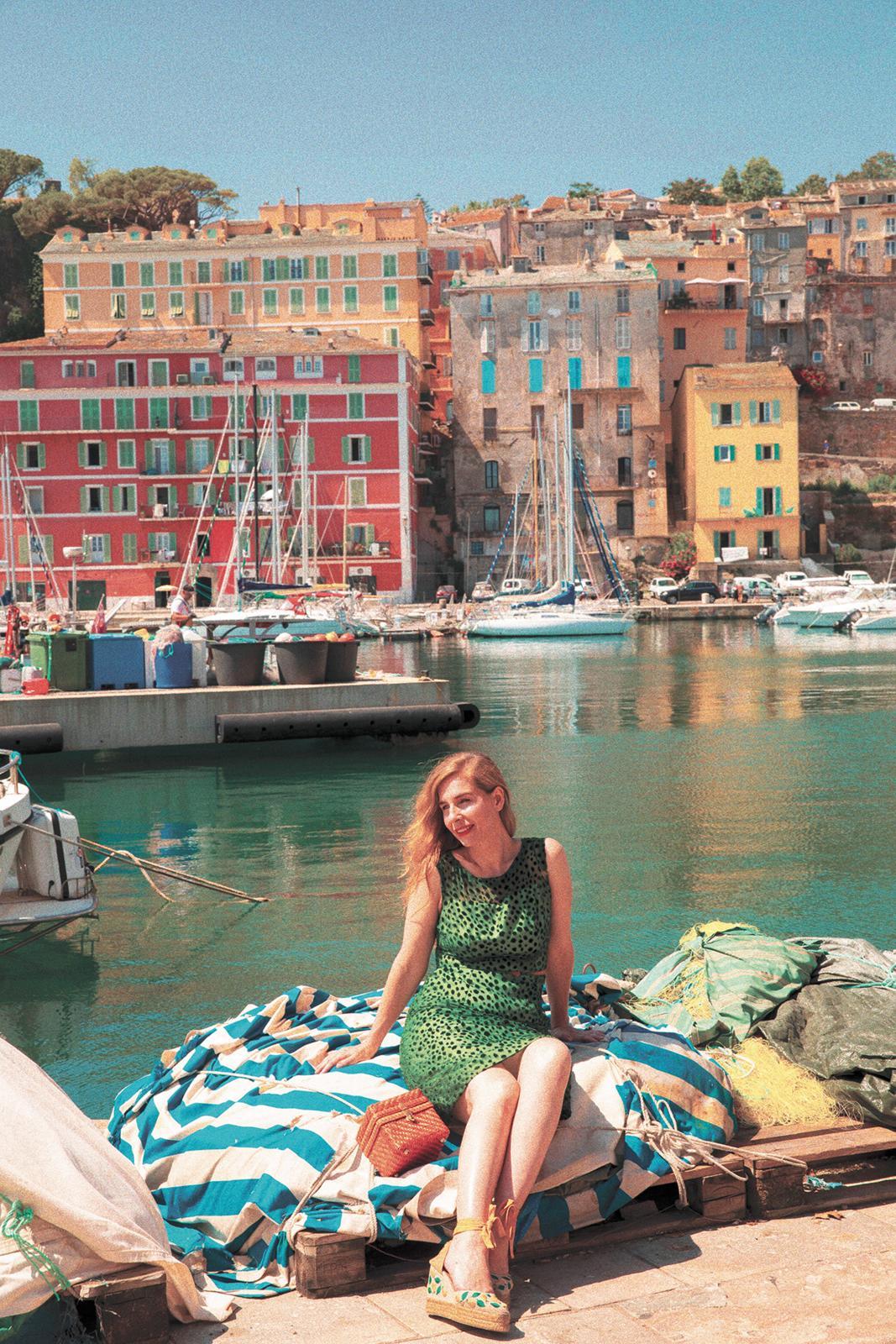Barbara en Corse (crédit photo Daguin Giamarchi)