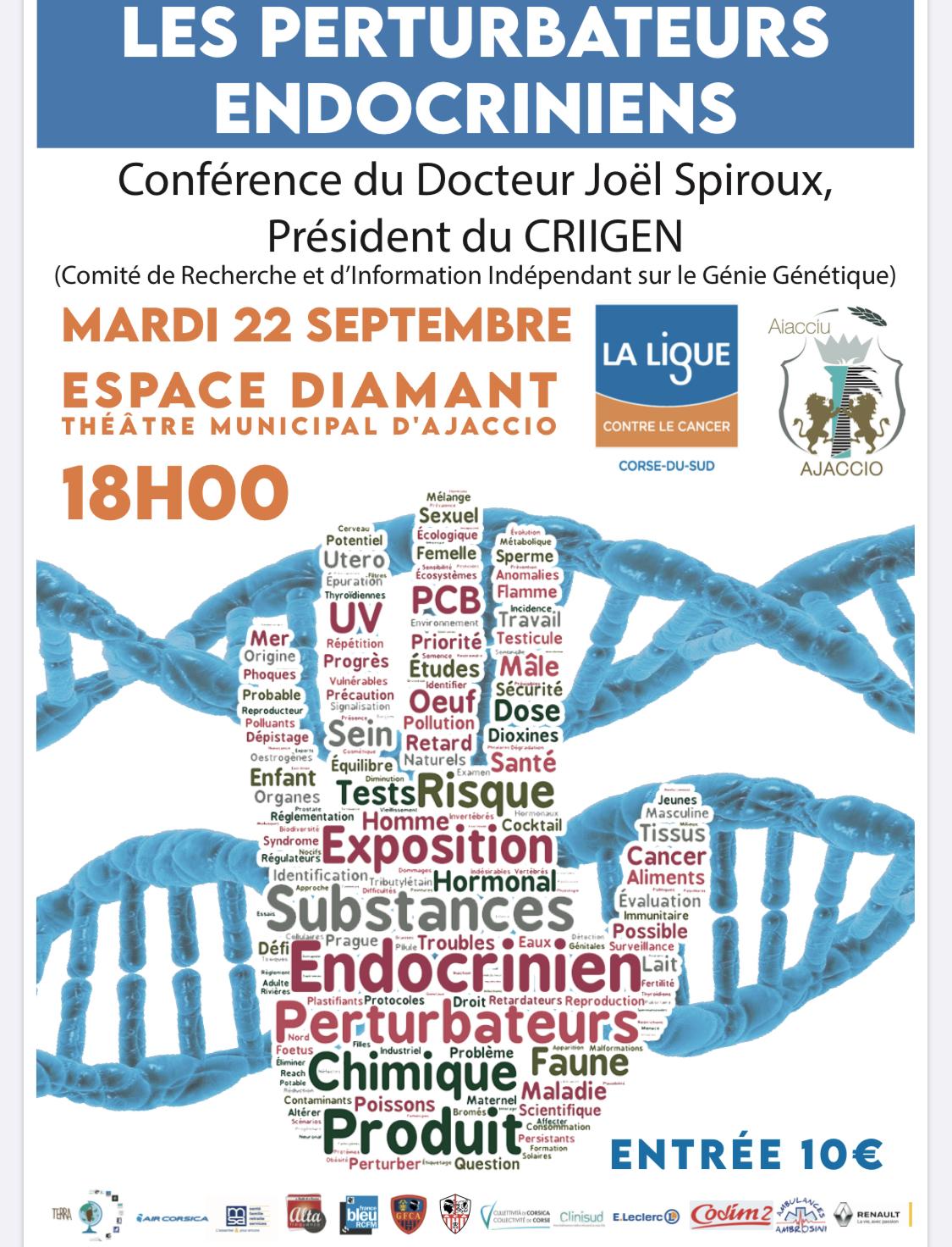 Ajaccio : une conférence pour parler des perturbateurs endocriniens