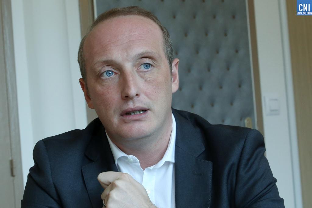 Laurent Marcangeli vise la présidence de l'Exécutif territorial (Photos Michel Luccioni)