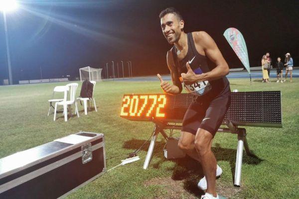 20km 772 ! record battu pour M.Amdouni.