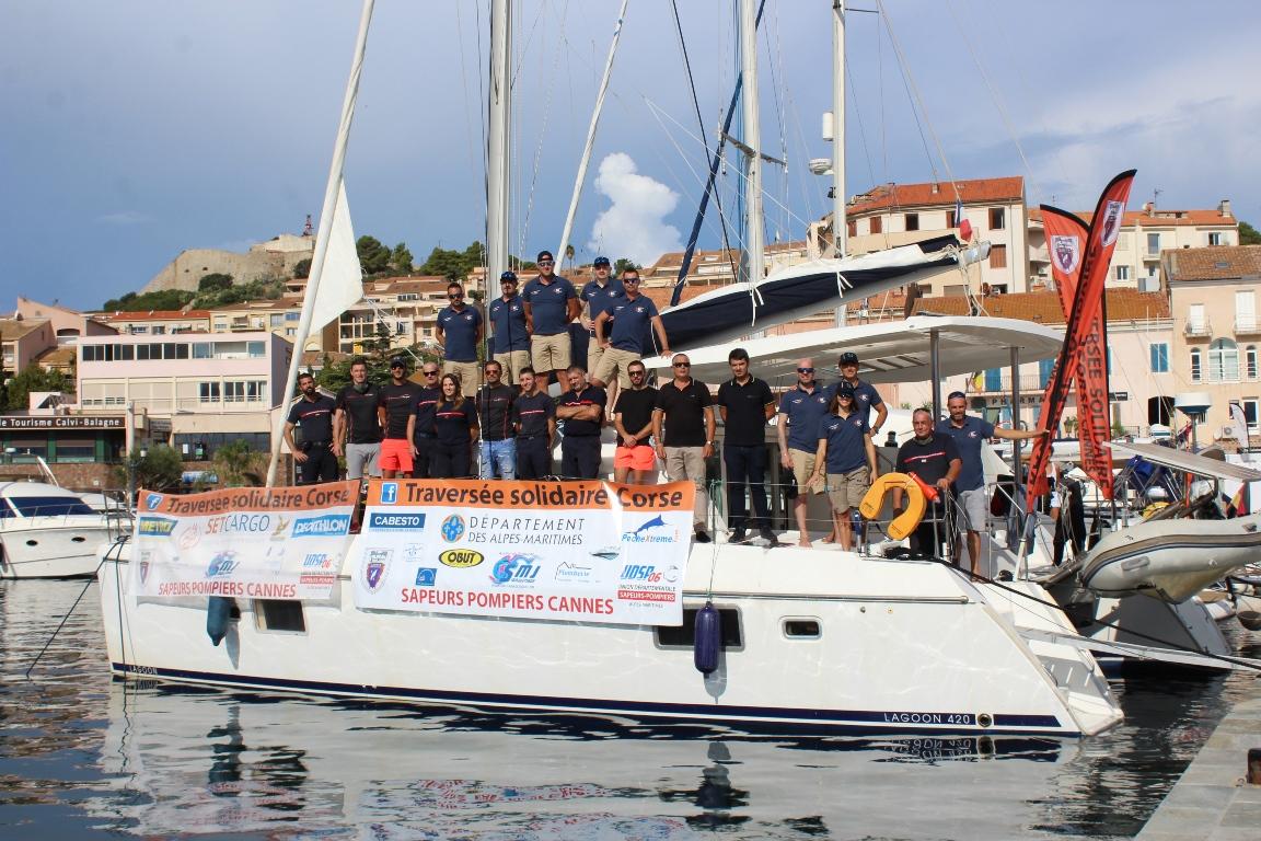 """IMAGES - La """"Traversée Solidaire Corse"""" à Calvi"""