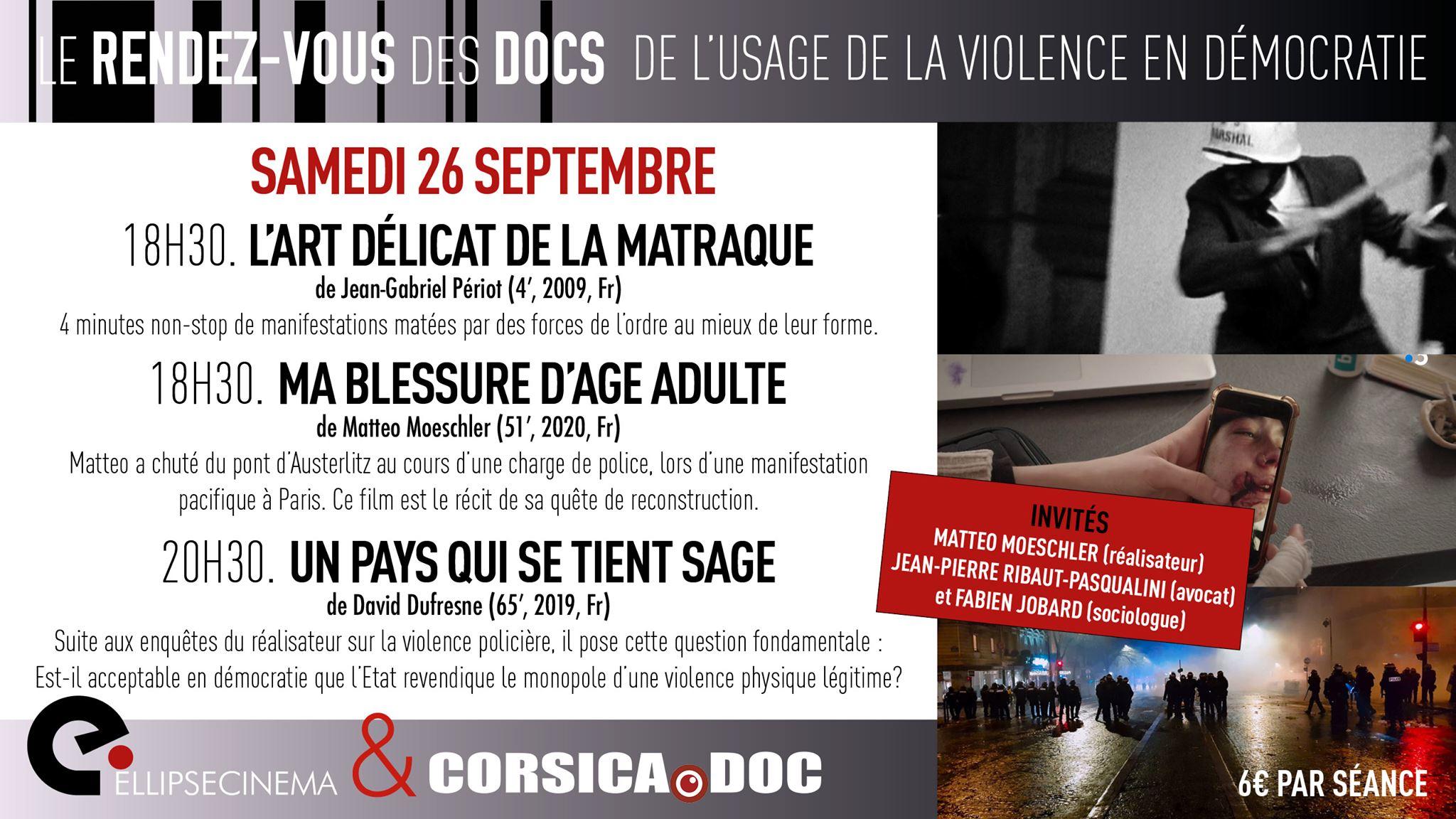 Ajaccio : Une avant-première à L'Ellipse par Corsica.doc