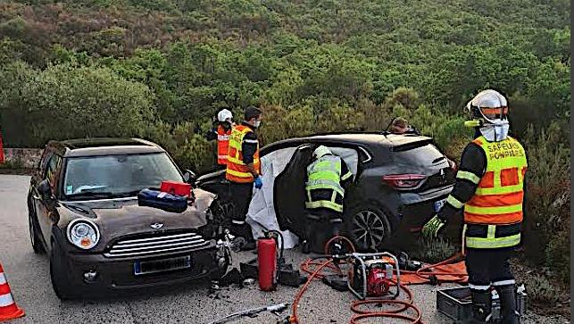 Deux blessés sur la route à San Gavino di Tenda
