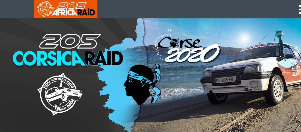 Le 205 Africa Raid, met le cap sur la Corse