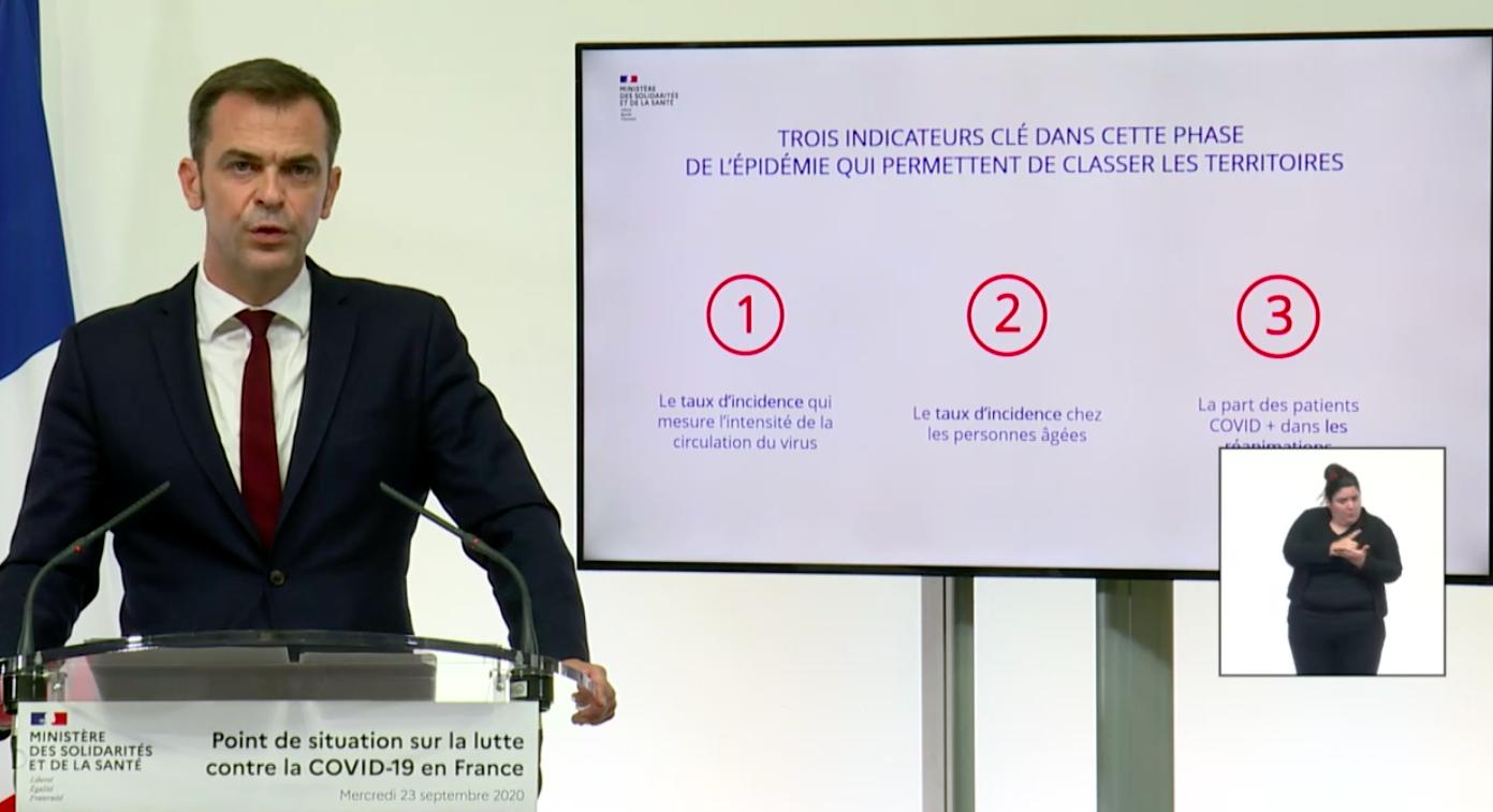 Covid-19 : Ce qu'il faut retenir des nouvelles mesures annoncées par Olivier Véran