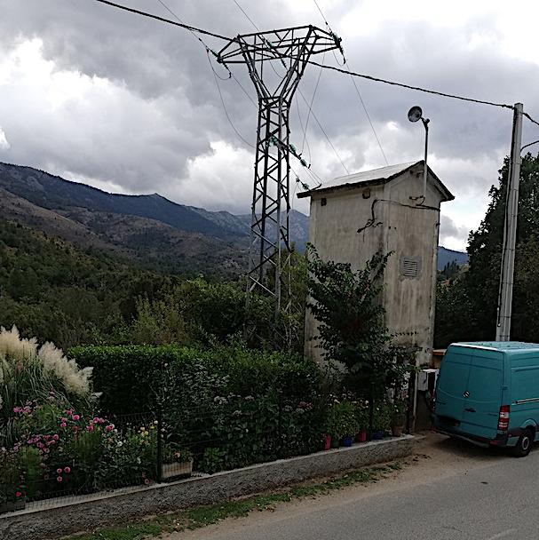 Tocc'à voi : histoire de pylône à Cuccia