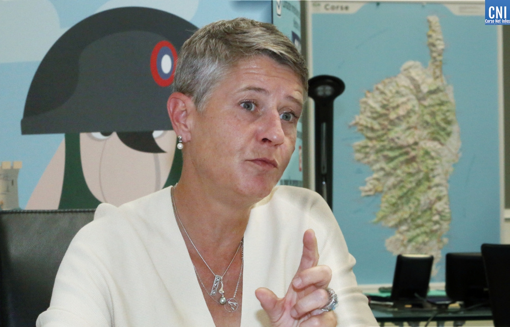 Marie-Hélène Lecenne (Photo Michel Luccioni)