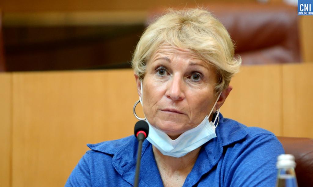Nadine Nivaggioni, conseillère territoriale du groupe Femu a Corsica. Photo Michel Luccioni.