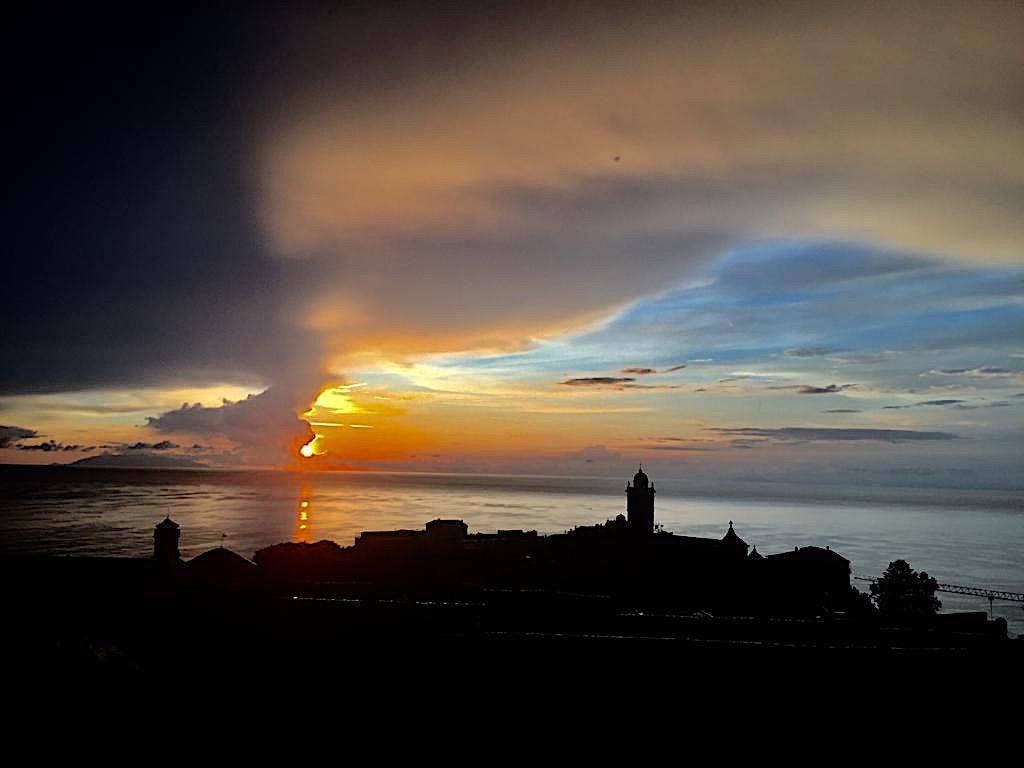 La photo du jour : le ciel tourmenté de Bastia