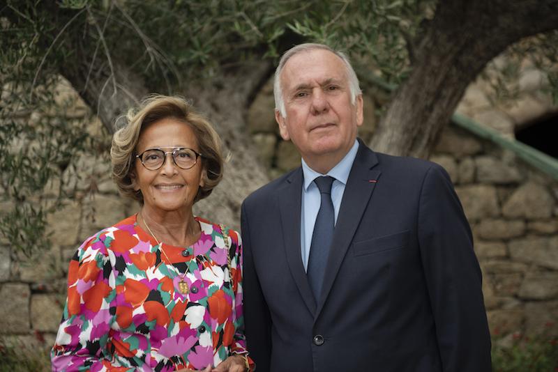 Jean-Jacques Panunzi et sa suppléante Simone Guerrini. Photo Jean-Noel Casanova.