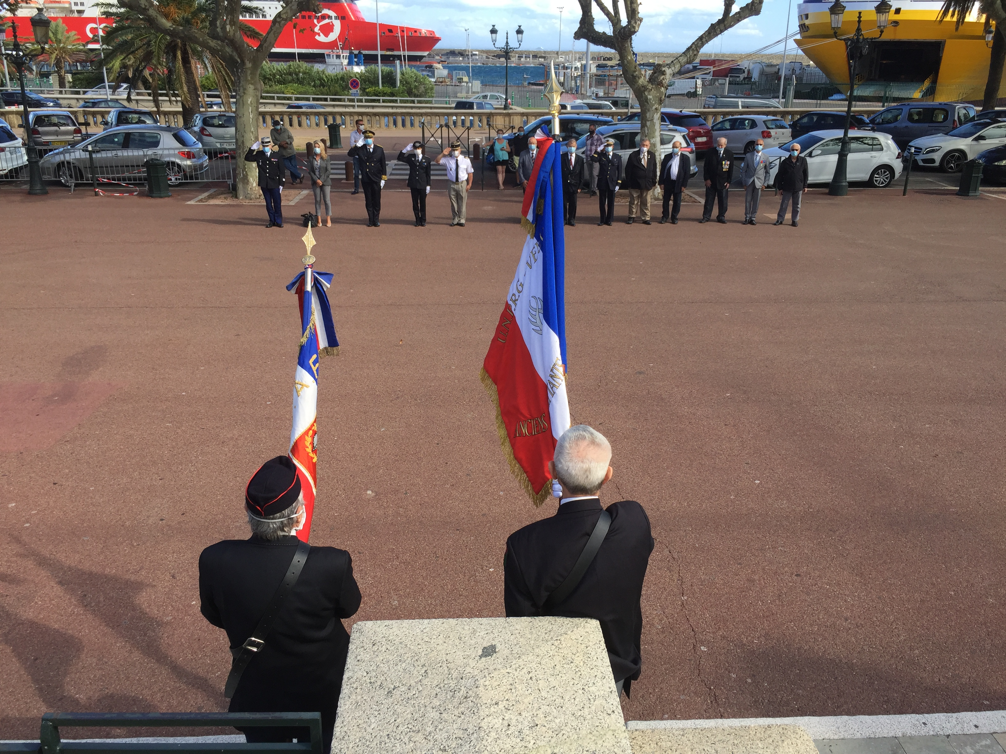 Bastia : hommage aux harkis et autres membres des formations supplétives