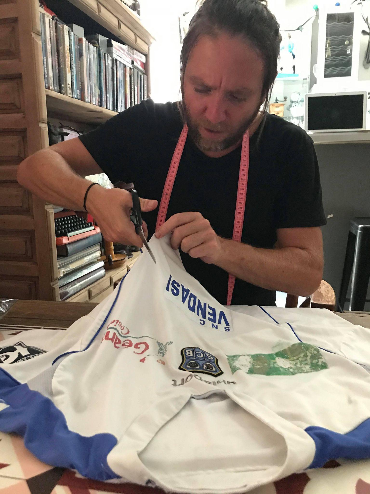 Ces corses qui ont un incroyable talent - Gilles Secchi, concepteur de footbagg