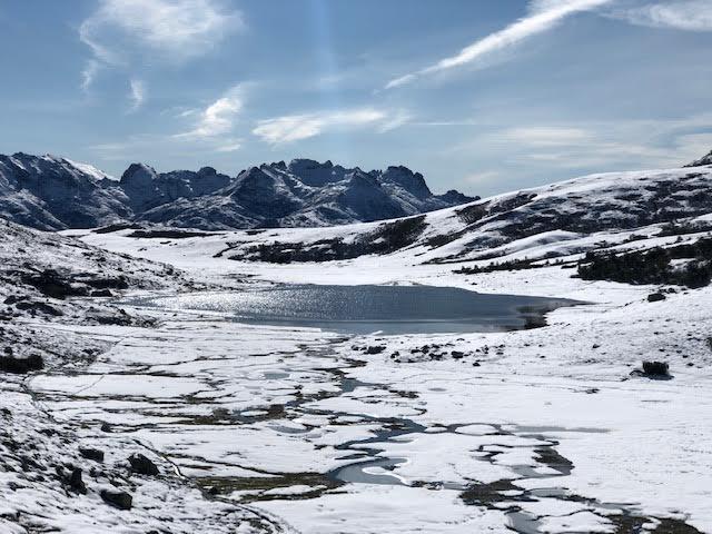 Le lac de Ninu, ce mercredi (Photo César Zucconi)