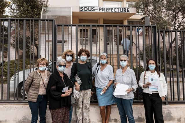 """Enfants malades sur le Continent : à Calvi, les """"Sœurs de combat"""" plaident la cause des parents"""