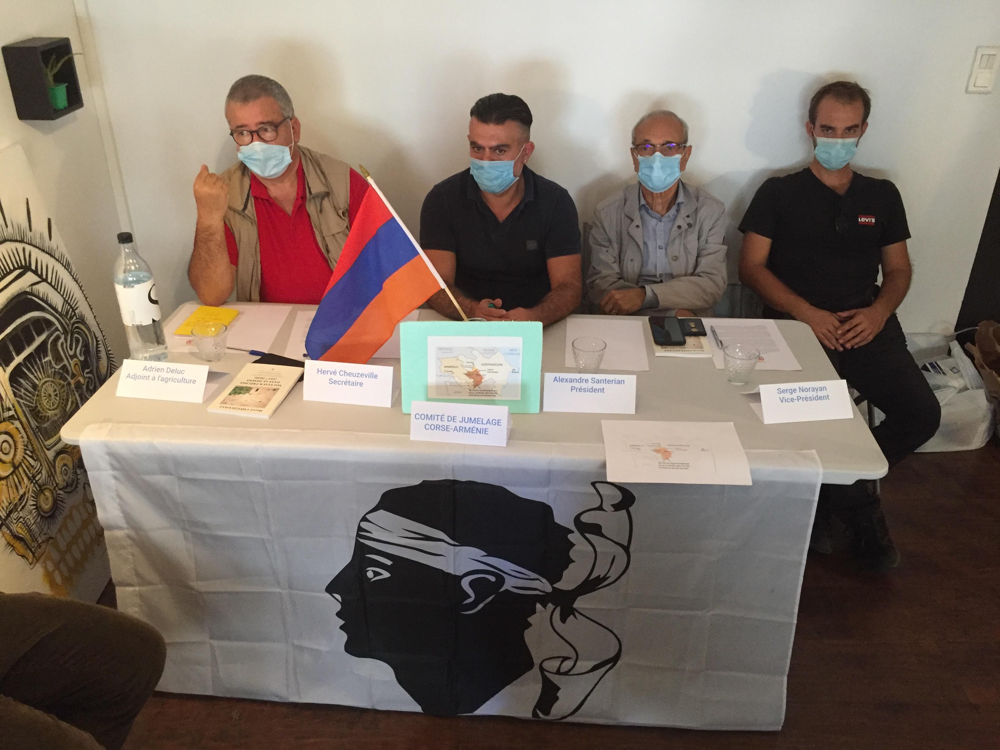 Un Comité de jumelage Corse Arménie vient de se créer pour venir en aide aux victimes de la guerre.