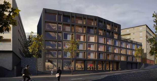 Le projet de construction de la résidence universitaire « SAMBUCUCCIU D'ALANDU ».