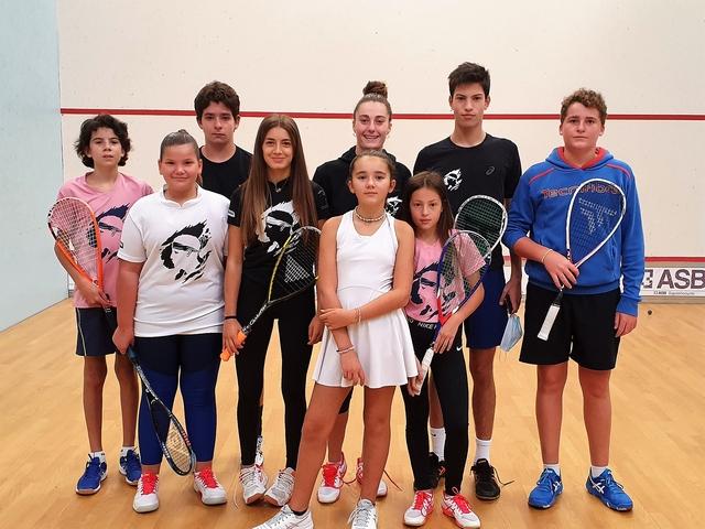 De bons résultats pour les corses aux championnats de France de Squash U13/U17