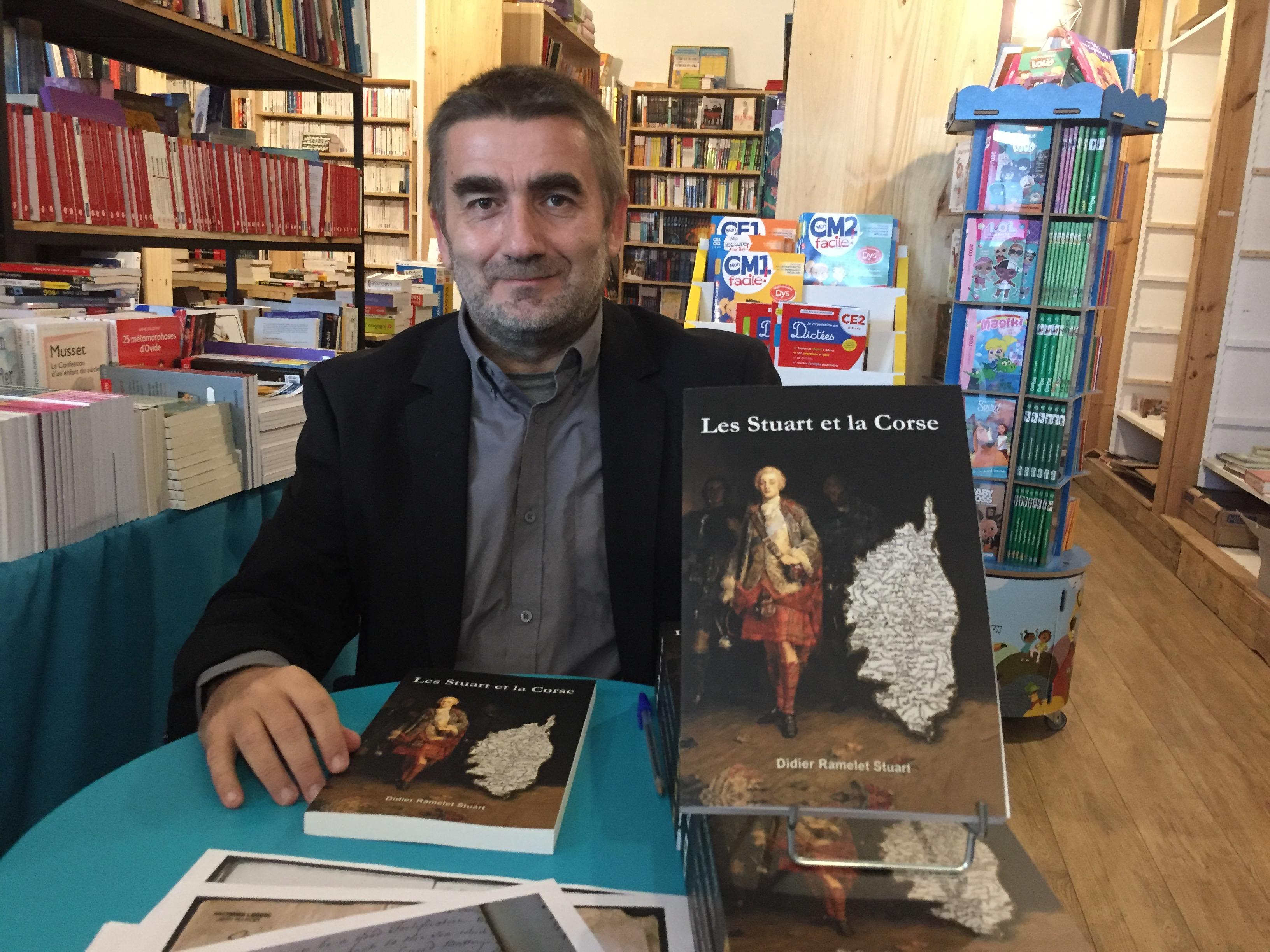"""Livre : """"Les Stuart et la Corse"""", le bel éclairage de Didier Ramelet-Stuart"""