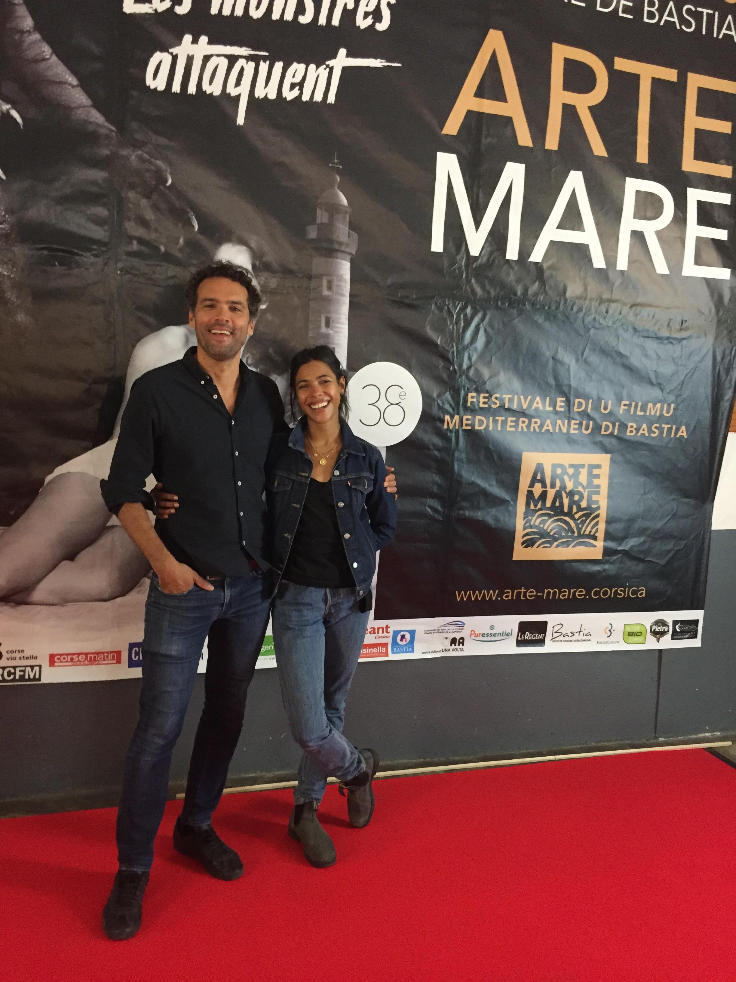 Le réalisateur Farid Bentoumi et l'actrice Zita Hanrot