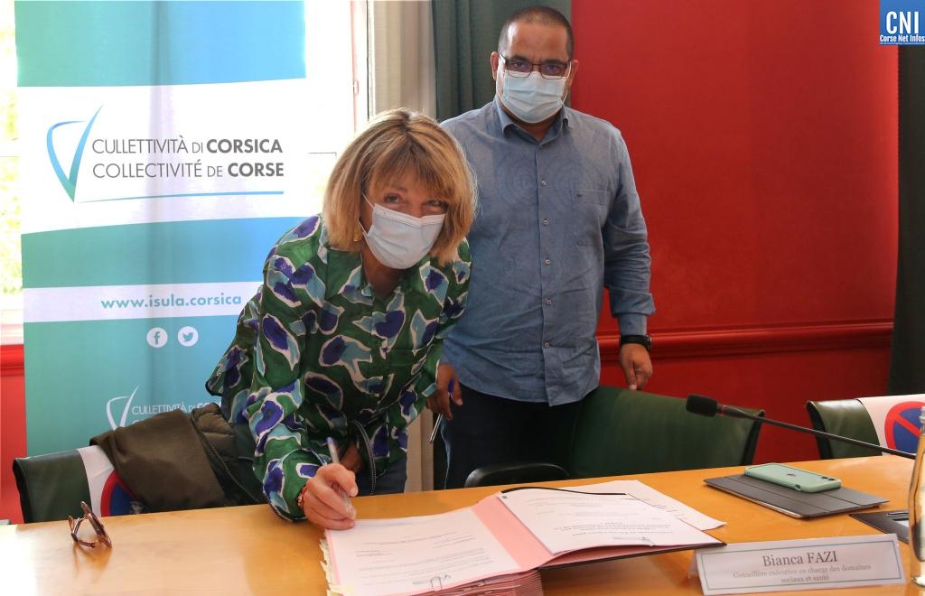 La Collectivité de Corse signe douze conventions pour « aider les aidants »