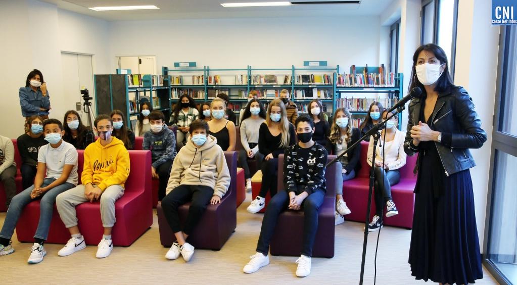 Ajaccio : L'entreprise s'invite au collège du Stiletto