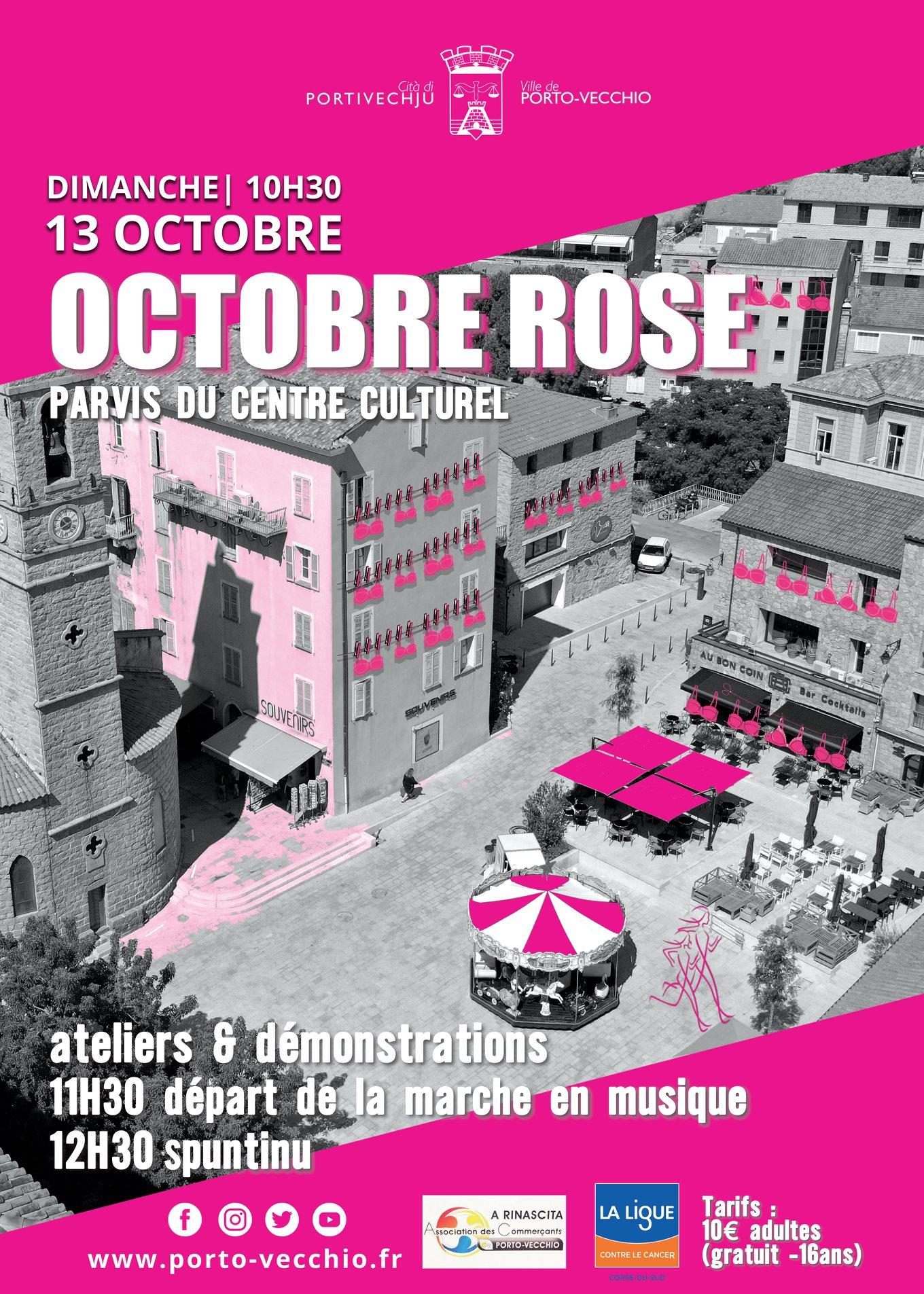 Octobre rose à Porto-Vecchio : plusieurs rendez-vous, malgré le contexte