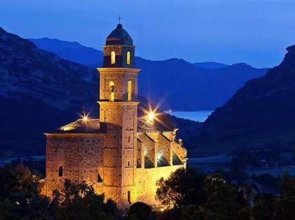 L'église San Martinu à Patrimoniu. Photo JB Andreani.