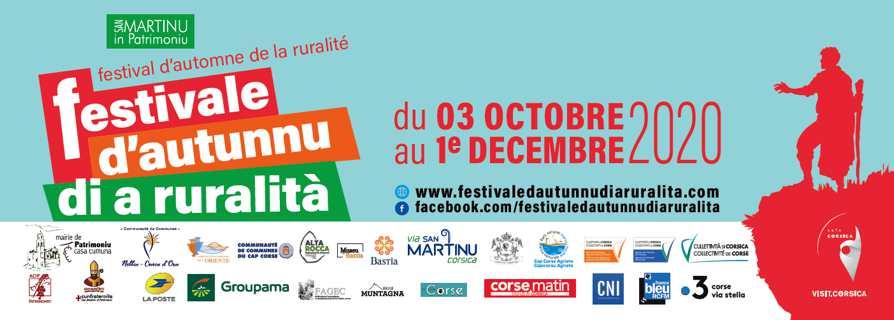 U Festivale d'autunnu di a ruralità fait de la résistance : Clap de départ pour un rendez-vous maintenu
