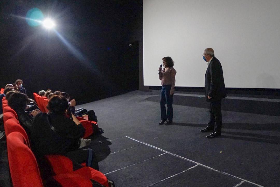 Kaouter Ben Hania présente son film au Régent de Bastia