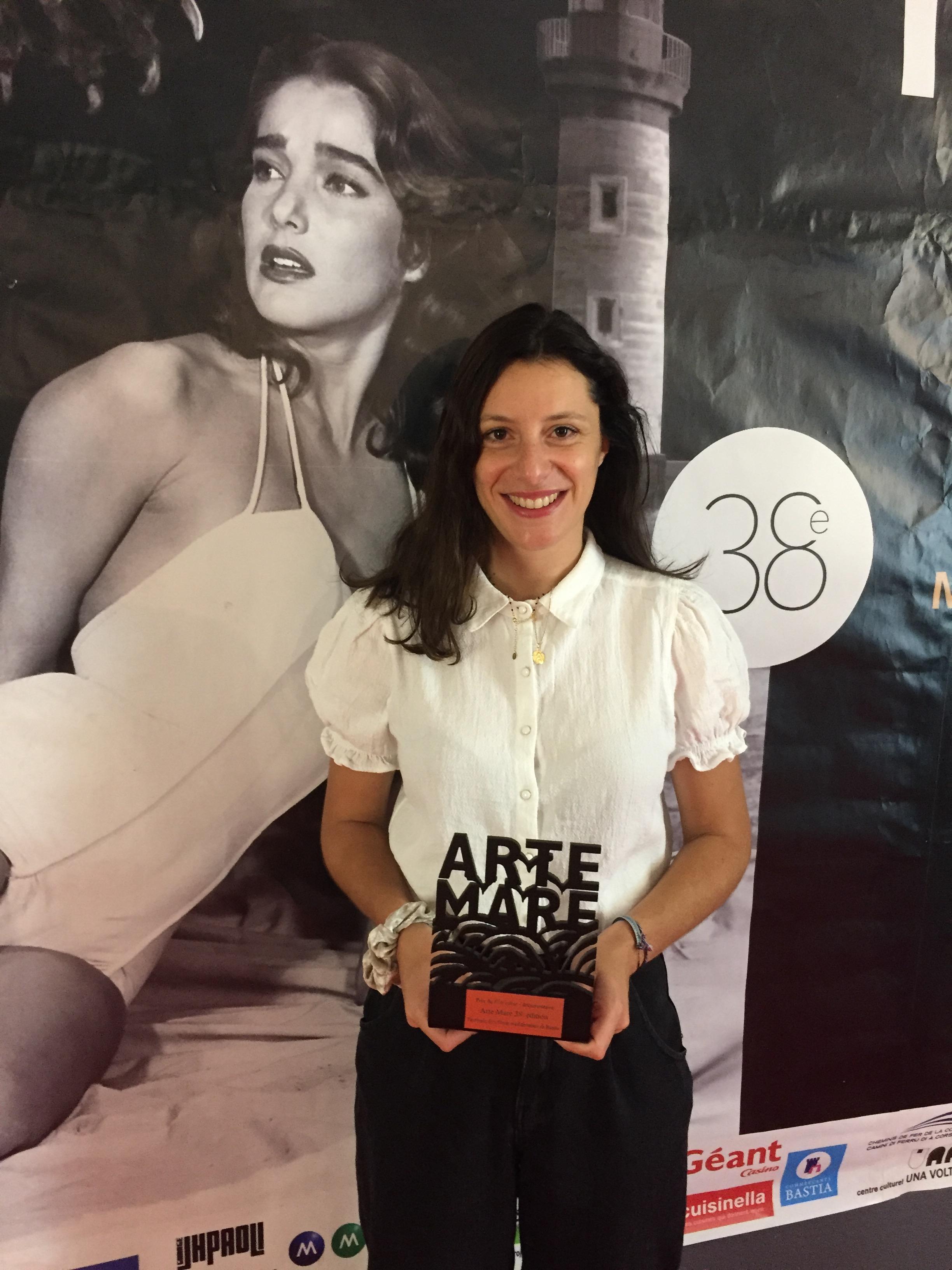 VIDEO - Océane Court-Mallaroni, lauréate du prix Arte Mare de la compétition corse