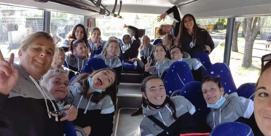 la joie des Ponettes à l'issue de leur succès en terre provençale