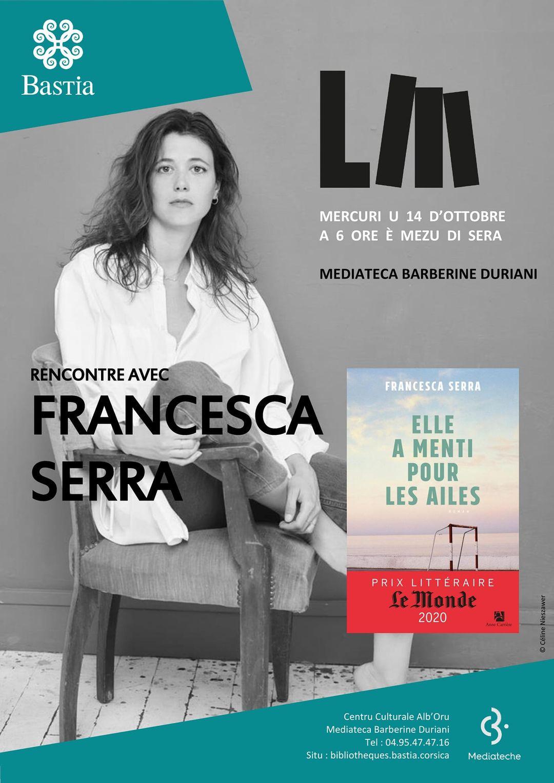 Rencontre : Francesca Serra à L'Alb'oru