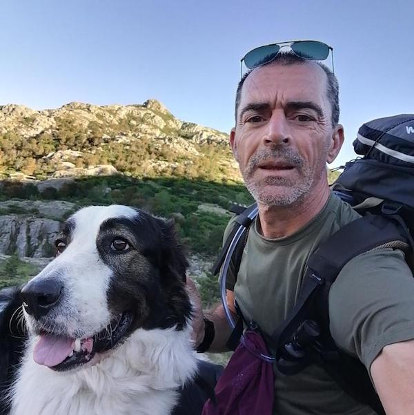 Jack, le chien des Pyrénées, et Charles, le randonneur : une belle histoire sur le GR 20